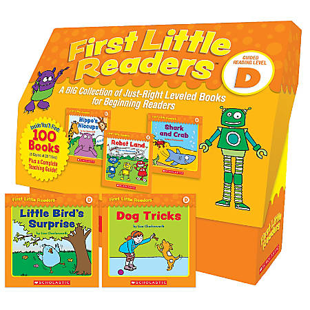 Scholastic Teacher Resources First Little Readers: Guided Reading Classroom Kit, Level D, Pre-K to 2nd Grade