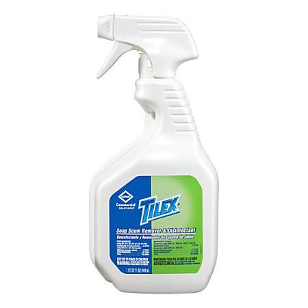 Tilex Soap Scum Remover and Disinfectant - Spray - 0.25 gal (32 fl oz) - 1 Each