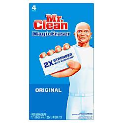 Mr Clean Magic Eraser Pads Box