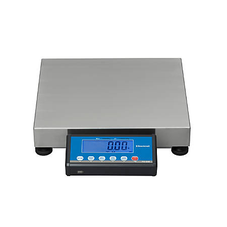 "Brecknell® PS-USB Shipping Scale, 16""H x 14""W x 3 3/16""D, 150-Lb Capacity, Gray"