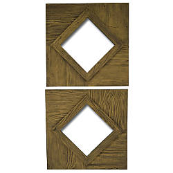 PTM Images Framed Mirror Rhombus S2