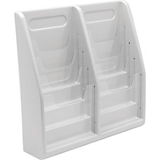Deflecto Multi Compartment Literature Display 8