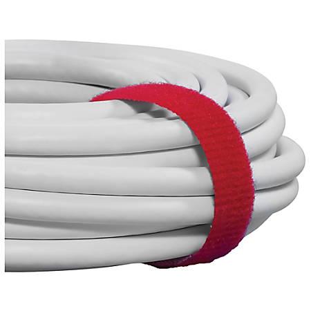 "VELCRO® Self-Grip Strap, 3/4"" x 75', Red"
