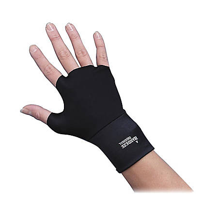 Dome Handeze Therapeutic Support Gloves, Small, Black