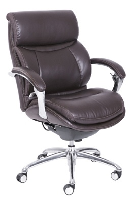Serta iComfort For WorkPro i5000 Series Mid Back Chair Chocolate by on case office chairs, work pro 436534 od office chairs, cheap office chairs,