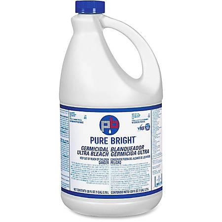 Kik Ultra-Germicidal Bleach, 1 Gallon, Case Of 6 Item # 116273