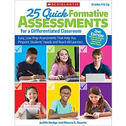 Scholastic Teacher Resources 25 Quick Formative