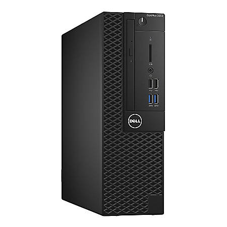 Dell OptiPlex 3000 3050 Desktop Computer - Intel Core i5 (7th Gen) i5-7500 3.40 GHz - 8 GB DDR4 SDRAM - 1 TB HDD - Windows 10 Pro 64-bit (English/French/Spanish) - Mini-tower