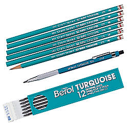 Sanford Turquoise Drawing Pencils Pack Of