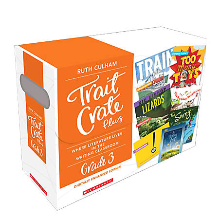 Scholastic Professional Trait Crate Plus Kits, Grade 3