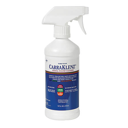 CarraKlenz Wound Cleanser, 16 Oz, White, Case Of 6