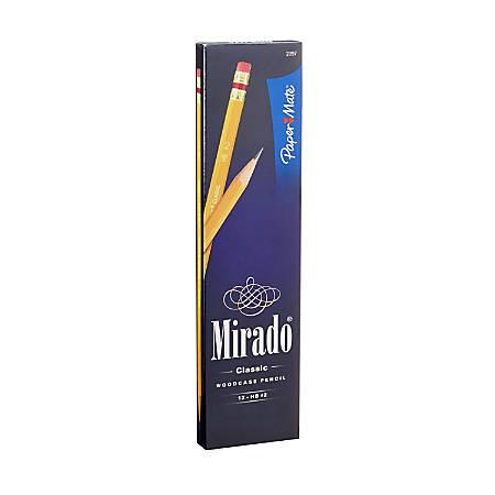 Paper Mate® Mirado® Classic Pencils, No. 2, Medium Soft Lead, Box Of 12