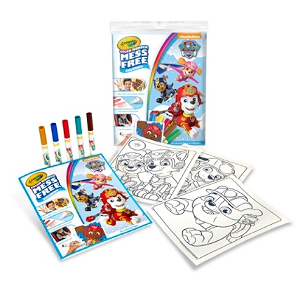 Crayola Color Wonder PAW Patrol Coloring Pad And Markers 12 58 x 9 ...