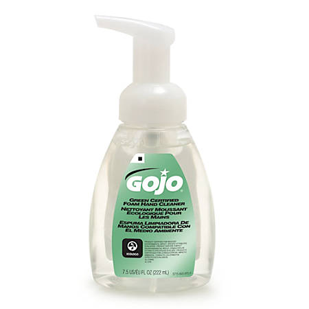 GOJO® Green Seal Certified Hand Soap, 7.5 Oz Pump