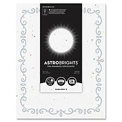 Astrobrights Foil Enhanced Certificates Vine Design