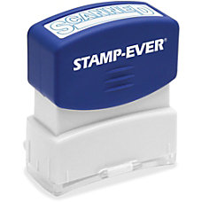 Stamp Ever SCANNED Pre inked Stamp