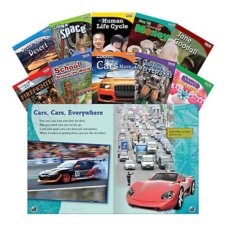 Teacher Created Materials TIME FOR KIDS® Nonfiction Book Set, Set 3, Set Of 10 Books, Grade 3