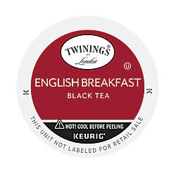 Twinings English Breakfast Tea K Cups