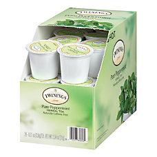 Twinings Pure Peppermint Tea Single Serve