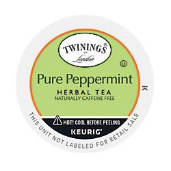 Twinings Pure Peppermint Tea K Cups