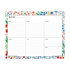 Blue Sky Weekly Planning Pad 10