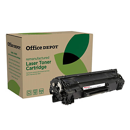 Office Depot® Brand OD85EHY (HP CE285A) Remanufactured Extended High-Yield Black Toner Cartridge