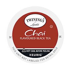 Twinings Chai Tea K Cups 011