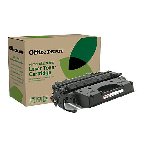 Office Depot® Brand OD05EHY (HP CE505X) Remanufactured Extended-High-Yield Black Toner Cartridge