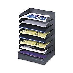 Safco Desk Tray Sorter Black