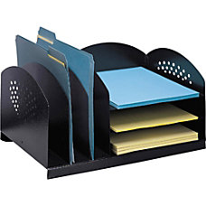 Safco 3 3 Combination Rack Desktop