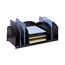 Safco Combination Rack Desktop Organizer 9