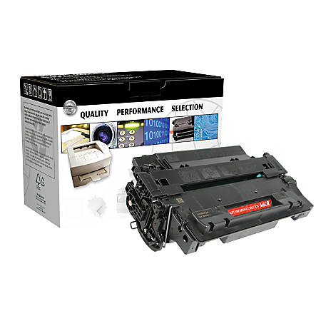 Clover Imaging Group CTG55XM Remanufactured High-Yield MICR Toner Cartridge Replacement For HP 55X Black