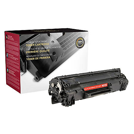 Clover Imaging Group CTG85AM Remanufactured MICR Toner Cartridge Replacement For HP 85A Black