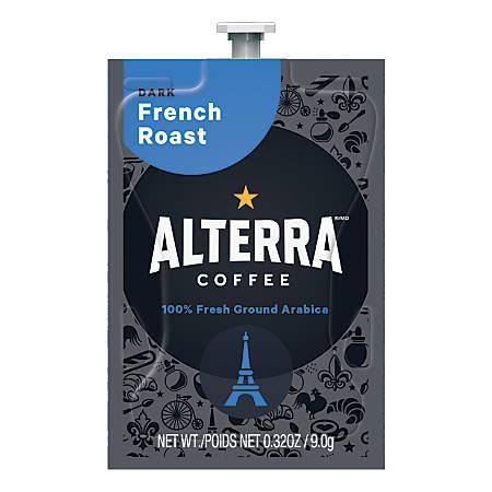 MARS DRINKS™ Flavia® Alterra™ French Roast Coffee Packs, 0.25 Oz, Box Of 100