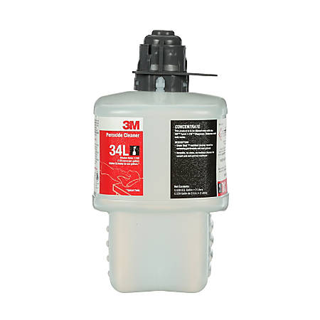 3M™ 34L Peroxide Cleaner Concentrate, 67.6 Oz, Case Of 6