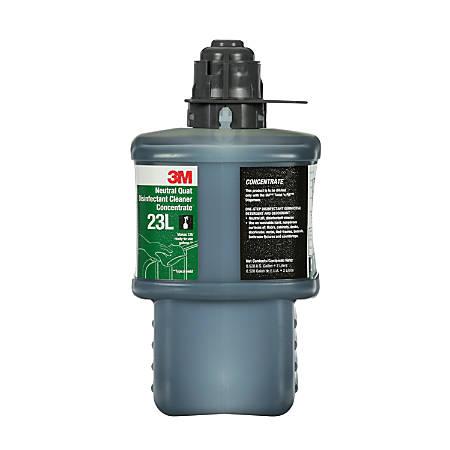 3M™ 23L Neutral Quat Disinfectant Cleaner Concentrate, 67.6 Oz, Case Of 6