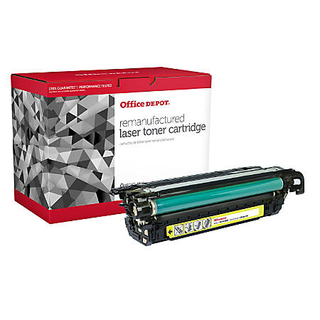 Office Depot® Brand OD4025Y (HP 648A / CE262A) Remanufactured Yellow Toner Cartridge
