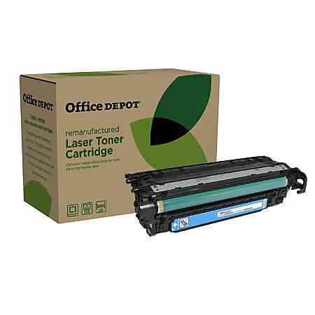 Office Depot® Brand ODM551C (HP CE401A) Remanufactured Cyan Toner Cartridge