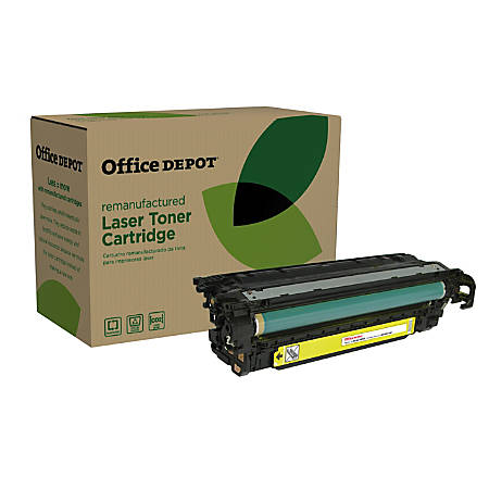 Office Depot® Brand ODM551Y (HP CE402A) Remanufactured Yellow Toner Cartridge