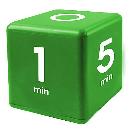 Datexx Time Cube® Preset Timer, Green, Pre-K - College