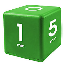 Datexx Time Cube Preset Timer Green