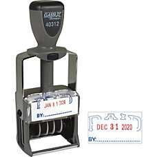 Xstamper Heavy duty PAID Self Inking