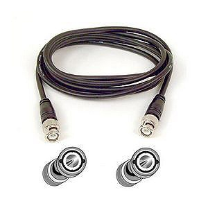 Belkin RG58 Coaxial Cable - BNC Male - BNC Male - 6ft - Black Item # 119415