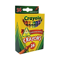 Crayola Standard Crayon Set Assorted Colors