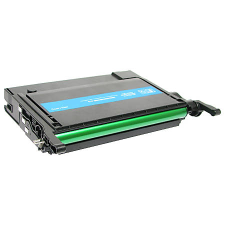 Clover Technologies Group™ Remanufactured High-Yield Toner Cartridge, Cyan, CTGCLP660C (Samsung CLP-C660A and Samsung CLP-C660B)