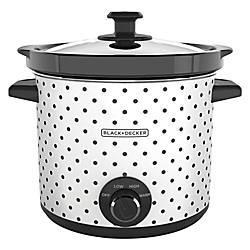 Black Decker 4 Quart Slow Cooker