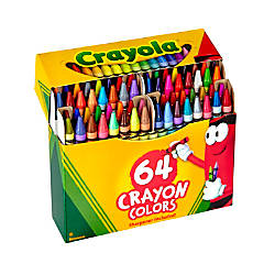 Crayola Standard Crayon Set With Built