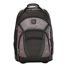 Wenger Synergy Wheeled Laptop Backpack BlackGray