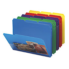 Smead Poly Folders With Slash Pocket