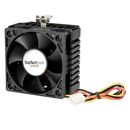 StarTech.com 65x60x45mm Socket 7/370 CPU Cooler Fan w/ Heatsink & TX3 connector - Processor cooler - ( Socket 370, Socket 7 )